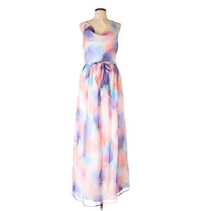 French Connection Watercolor Casual Dress